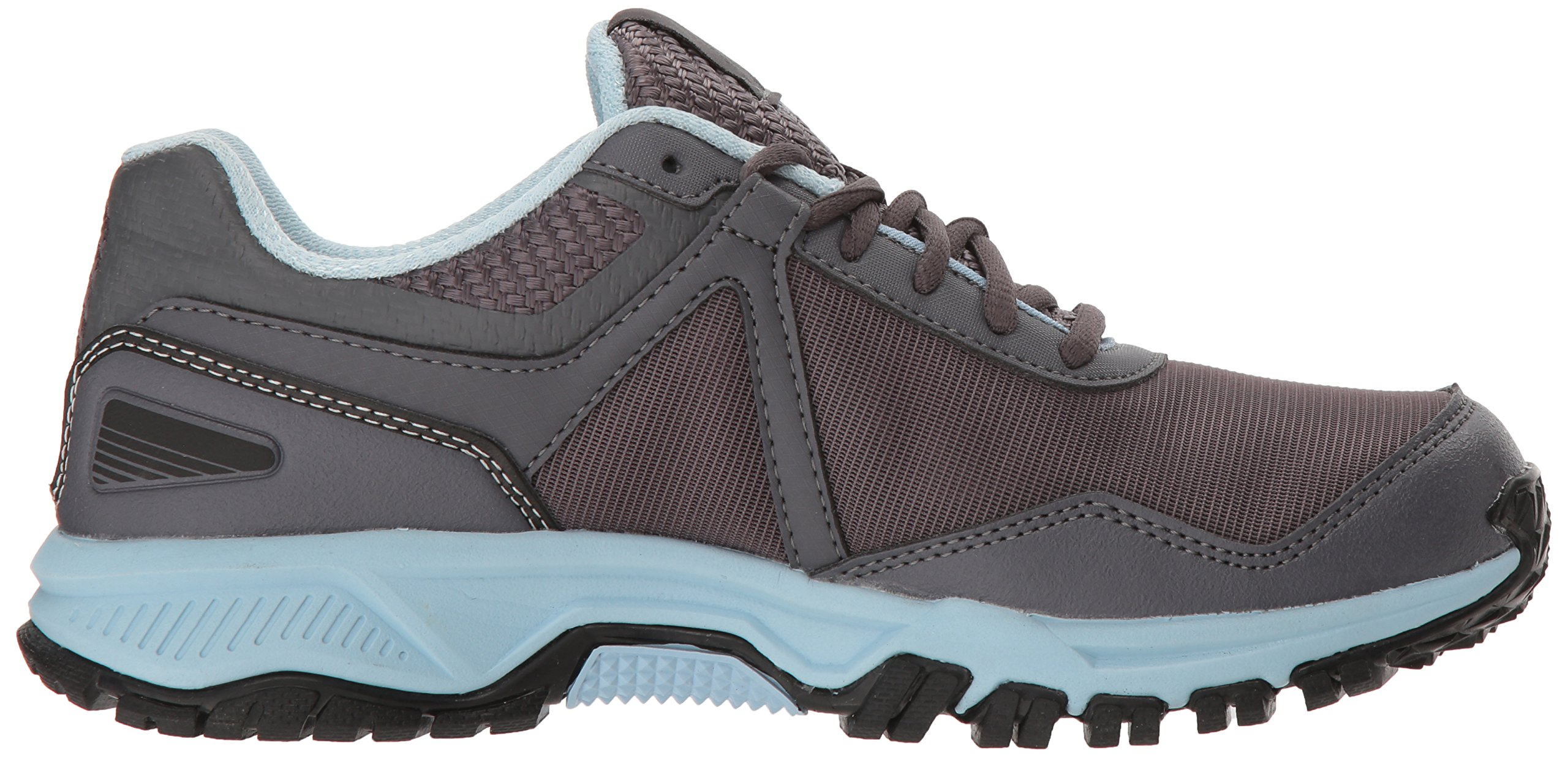 Reebok Women's Ridgerider Trail 3.0 Walking Shoe, ash Grey/Dreamy Blue/blac, 7.5 M US by Reebok (Image #6)