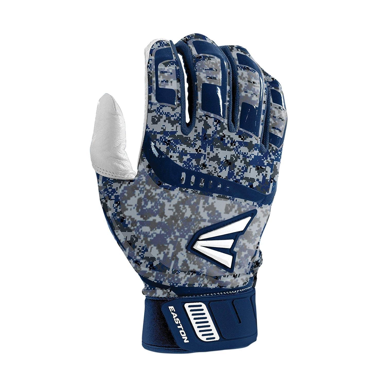 Navy Camo Navy Camo//S Easton Austin Hedges Walk-Off Adult Batting Gloves