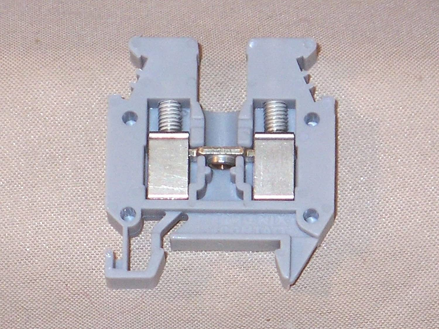Amazon com: DIN Rail Terminal Blocks 5 2mm MINI BLOCK (1