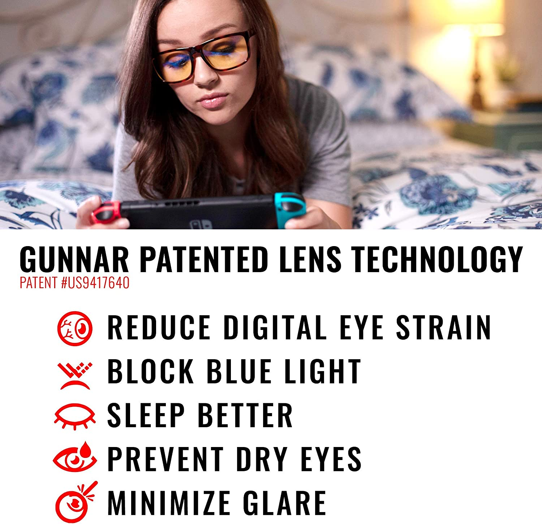 9ba1f3618a Amazon.com  GUNNAR Gaming and Computer Eyewear  Intercept
