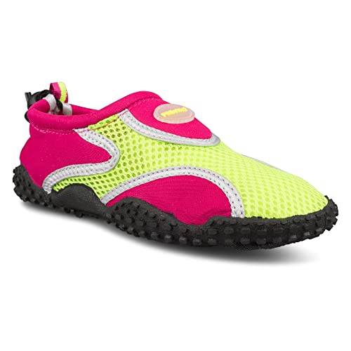 cac858fdf6ac Fresko Shoes Girls Slip On Athletic Water Swim Shoe for Beach   Pool Hot  Pink