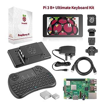 Raspberry Pi 3 B+ último Kit Para Comenzar: Amazon.es ...