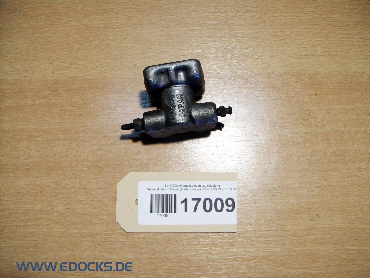 hidráulico Cilindro receptor de conector Cilindro maestro de embrague de frontera B: Amazon.es: Coche y moto