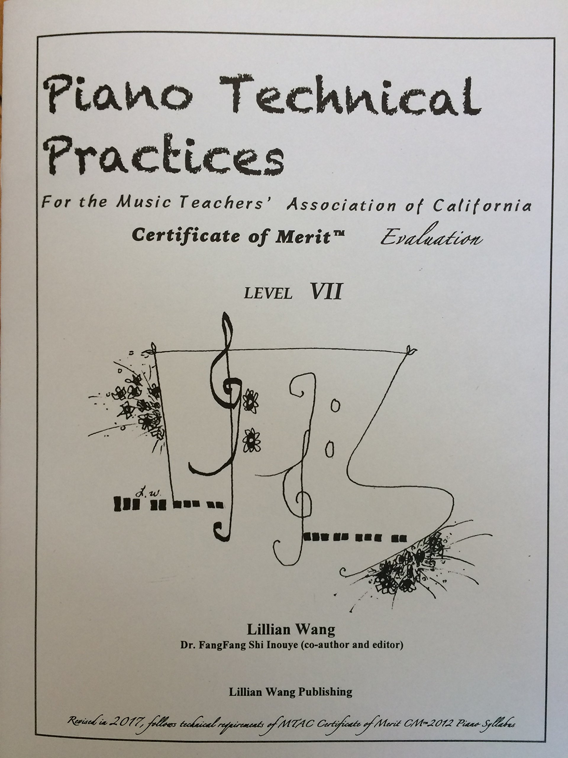 Piano Technical Practices For the Music Teachers\' Association of ...