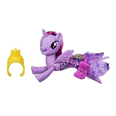My Little Pony The Movie Princess Twilight Sparkle Land & Sea Fashion Styles: Toys & Games