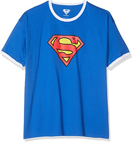 DC Comics Superman Logo Camiseta para Hombre