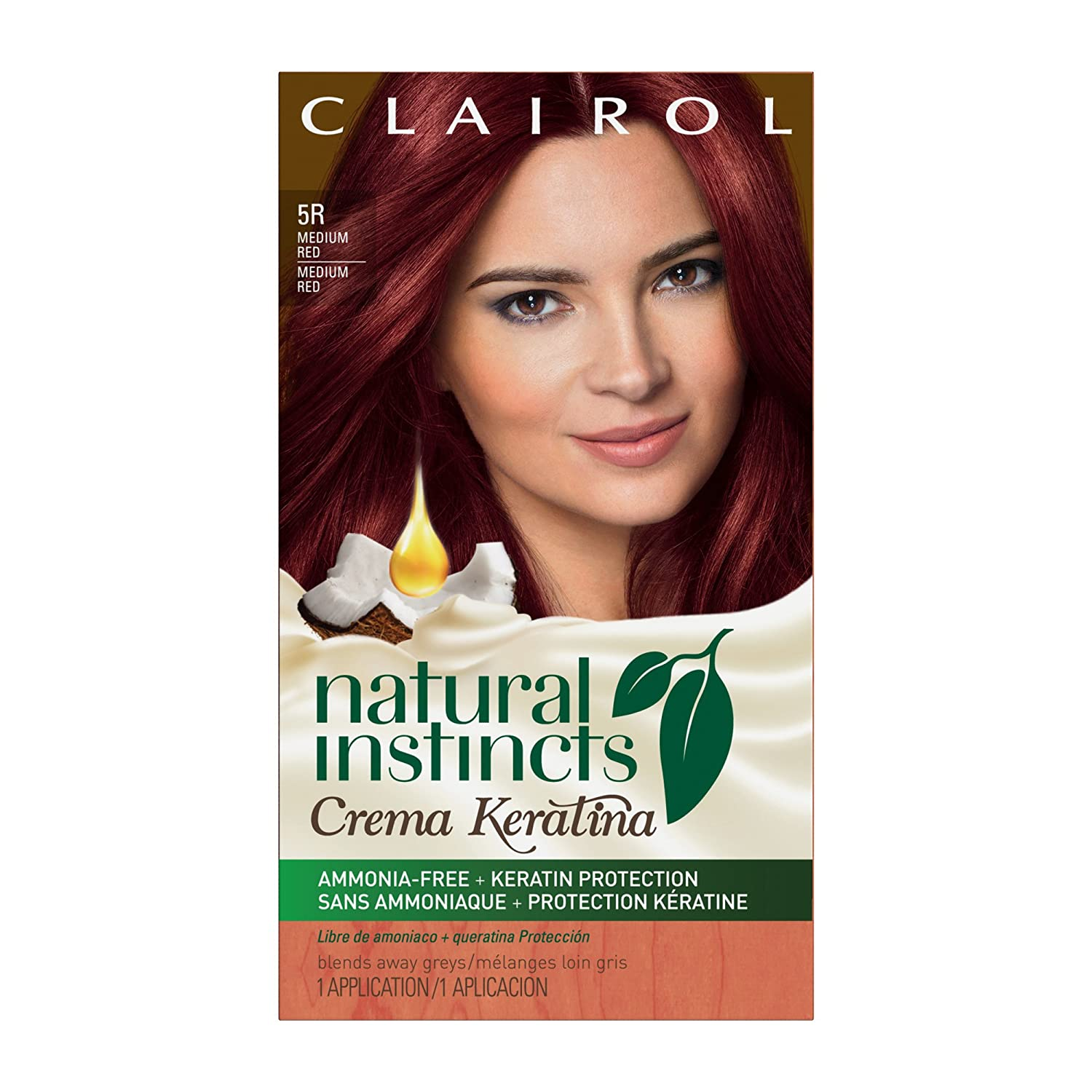 Amazon Clairol Natural Instincts Crema Keratina Hair Color Kit