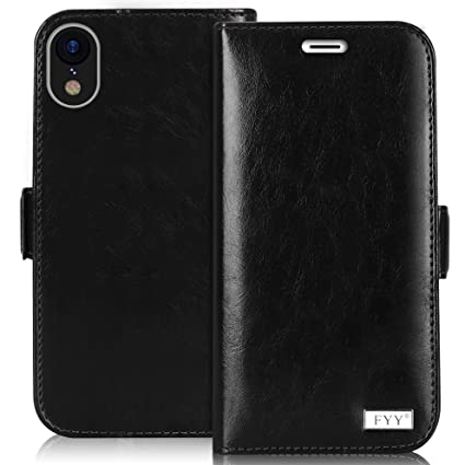 Amazon.com: FYY - Funda tipo cartera para Apple iPhone Xr de ...