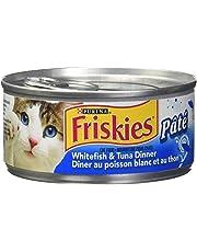 Purina® Friskies® Pate Whitefish & Tuna Dinner Cat Food 156g Can