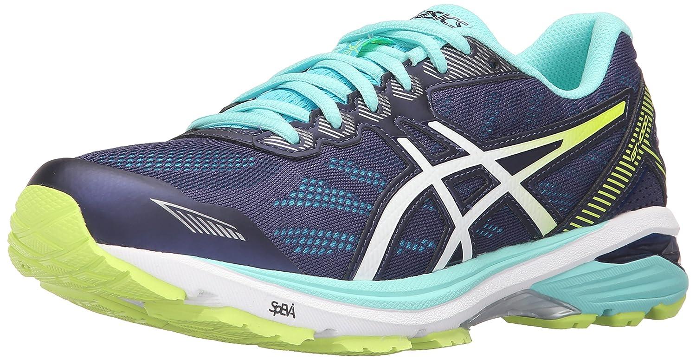 ASICS Women's Gt-1000 5 Running Shoe B017USNG7I 7 B(M) US|Indigo Blue/White/Safety Yellow