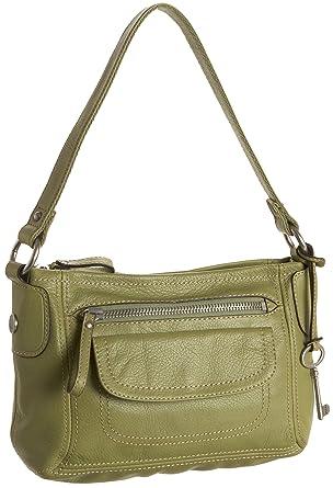0cc652333 Fossil Hanover Top Zip (Green): Handbags: Amazon.com