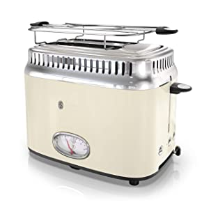 Russell Hobbs TR9150CRR Retro Style Toaster 2-Slice Cream