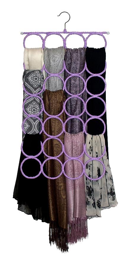 Scarf U0026 Tie Hanger, Closet Organizer, The No Snags Best Space Saving Hanger  For