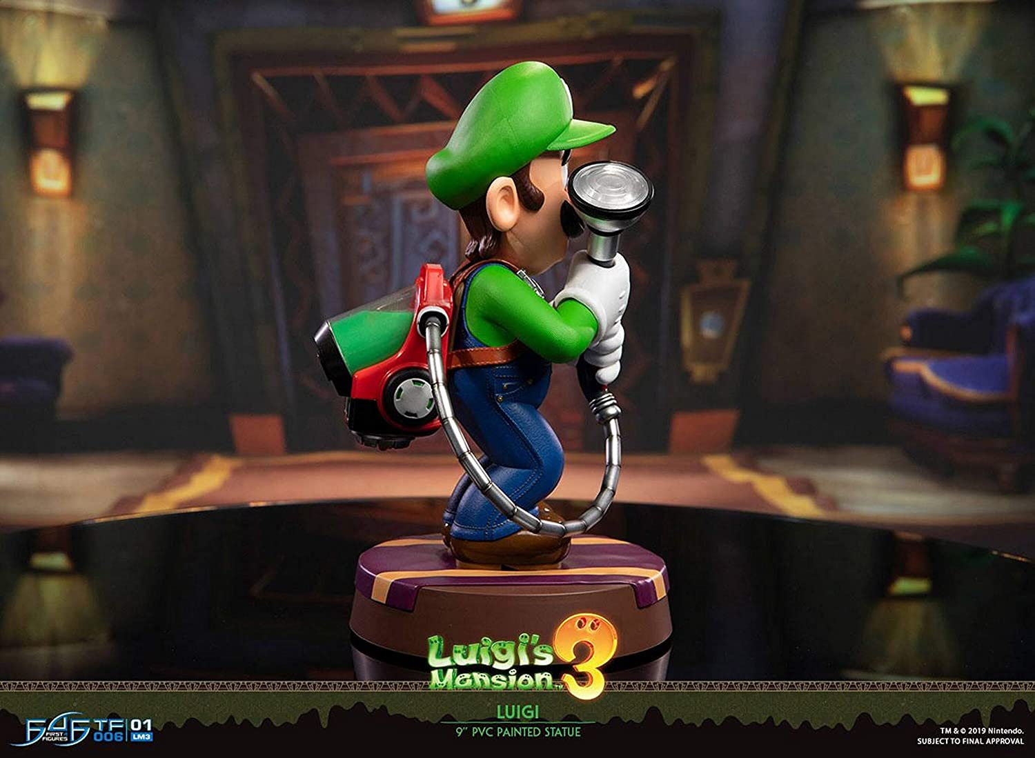 First 4 Figures- Luigi Figura Coleccionable (LM03ST): Amazon.es ...