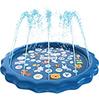 Mother & Kids Charitable Summer 2019 Baby Water Spray Pad Inflatable Water Sprinkling Mat Beach Sand Toys Toys For Children Activity Play Toy Structural Disabilities