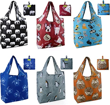 Reusable washable Grocery bag  big size bag  Shopping bag  Folding bag  tote bag  shoulder bag  foldable bag