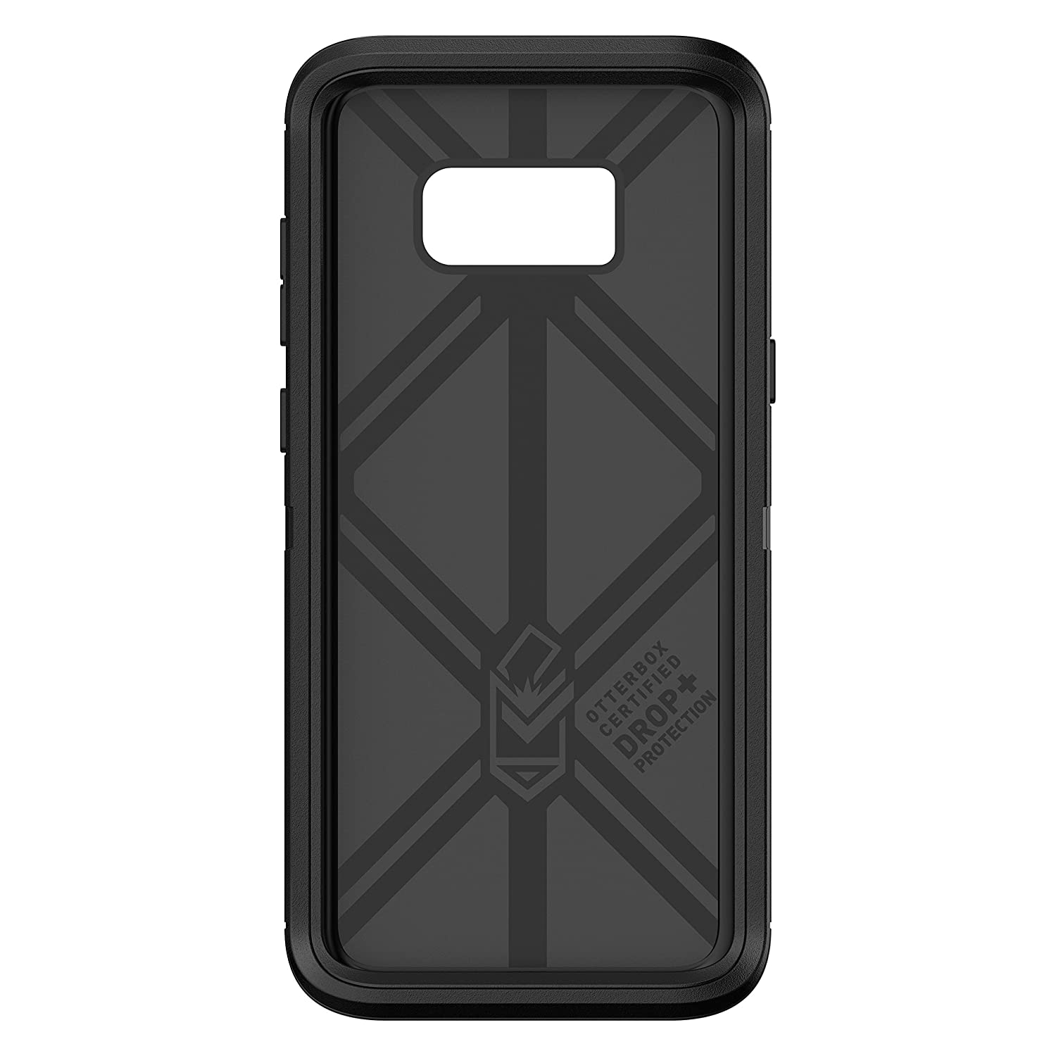 OtterBox Defender Series SCREENLESS Edition for Samsung Galaxy S8+ - Frustration Free Packaging - Black