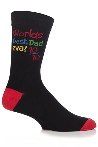 6ae5cc6aa77f2 Mens 1 Pair SockShop Fathers Gift Novelty Socks In Gift Box - WORLDS BEST  DAD EVA!: Amazon.co.uk: Clothing