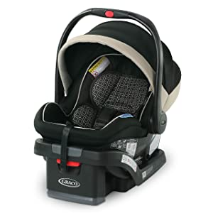 Graco SnugRide SnugLock 35 LX featuring 1-Hand Adjust, Pierce