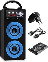 vielseitig einsetzbar, Halterung f/ür Soundspark Bluetooth-Lautsprecher oder als Stativ f/ür Digitalkameras Beatfoxx Erdspie/ß f/ür FA-50 Soundspark Schwarz