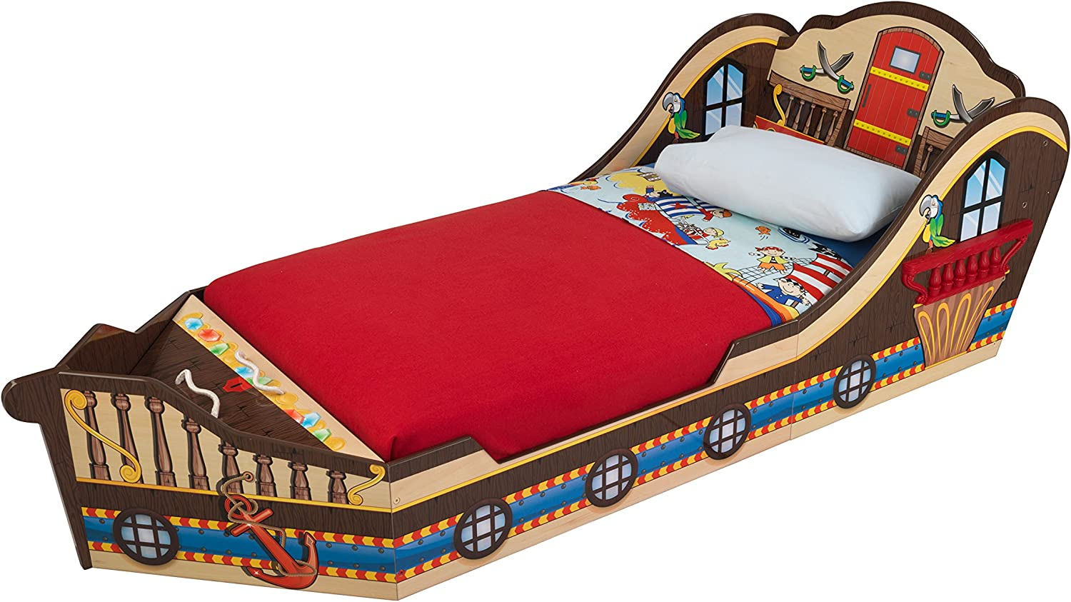 KidKraft Toddler Pirate Bed