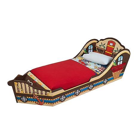 premium selection b5984 5311c KidKraft Toddler Pirate Bed