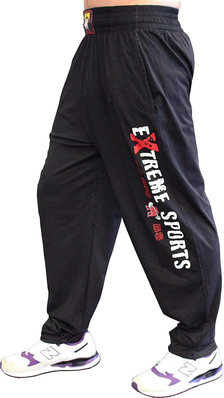 BIG SM EXTREME SPORTSWEAR Herren Bodyhose Jogginghose Sporthose Bodybuilding 828
