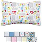 Toddler Pillowcase 13x18 - 2 Pack - White | New & Improved