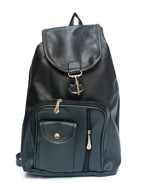 c1f2c7feaaa3 Buy Vintage Stylish Girls School bag College Bag Casual Backpack(A 5) (3  colors) (Black) Online at Low Prices in India - Amazon.in