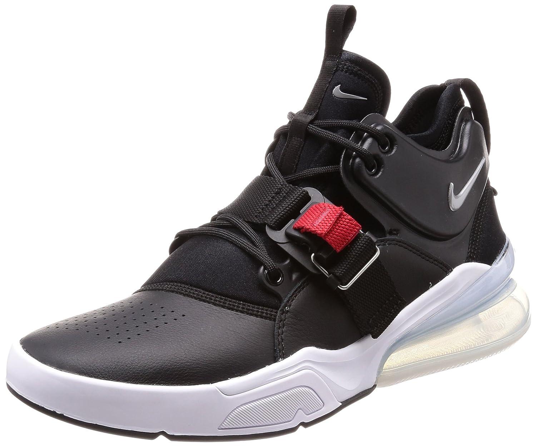 ae0b7d3d2f Amazon.com | Nike Air Force 270 Men's Running Shoes Black/Metallic Silver- White AH6772-001 | Road Running