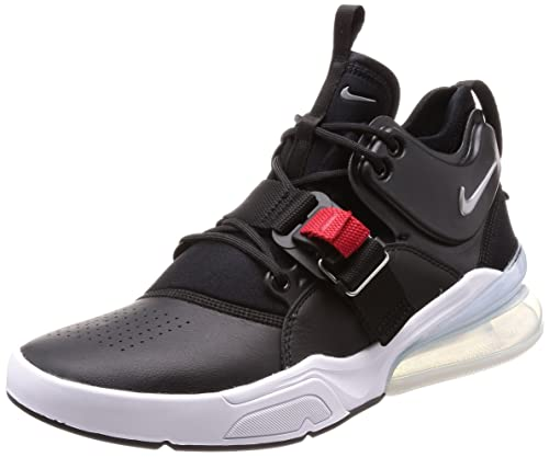 7a801e4b53e5 Nike Air Force 270 Men's Running Shoes Black/Metallic Silver-White  AH6772-001
