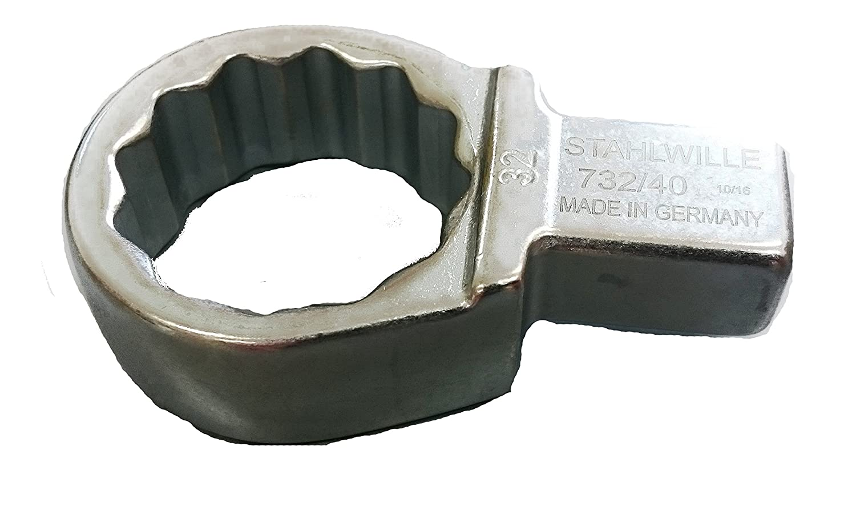 Stahlwille 732//40 19 Einsteck-Ringschl/üssel732 19mm