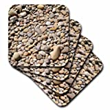 3dRose River rock pebbles with shades of different