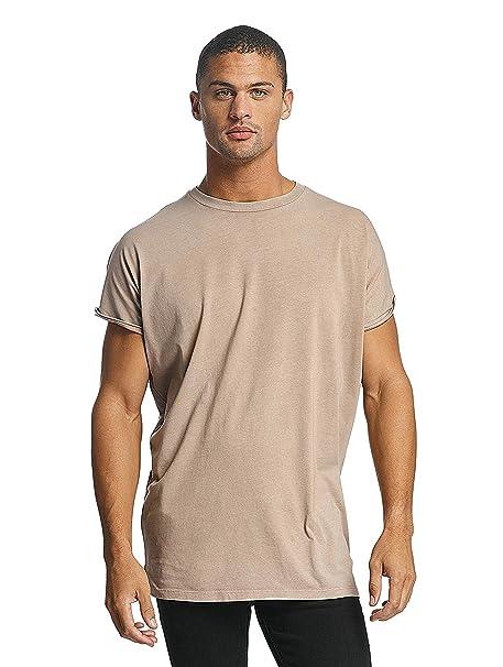 DEF Hombres Ropa Superior/Camiseta Miguel Pablo Oversize: Amazon.es: Ropa y accesorios