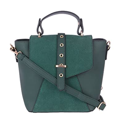 896ea3c22f Sling Bags for Women by Fur Jaden, Stylish Green Colour Branded Sling Bag  for College Girls: Amazon.in: Shoes & Handbags