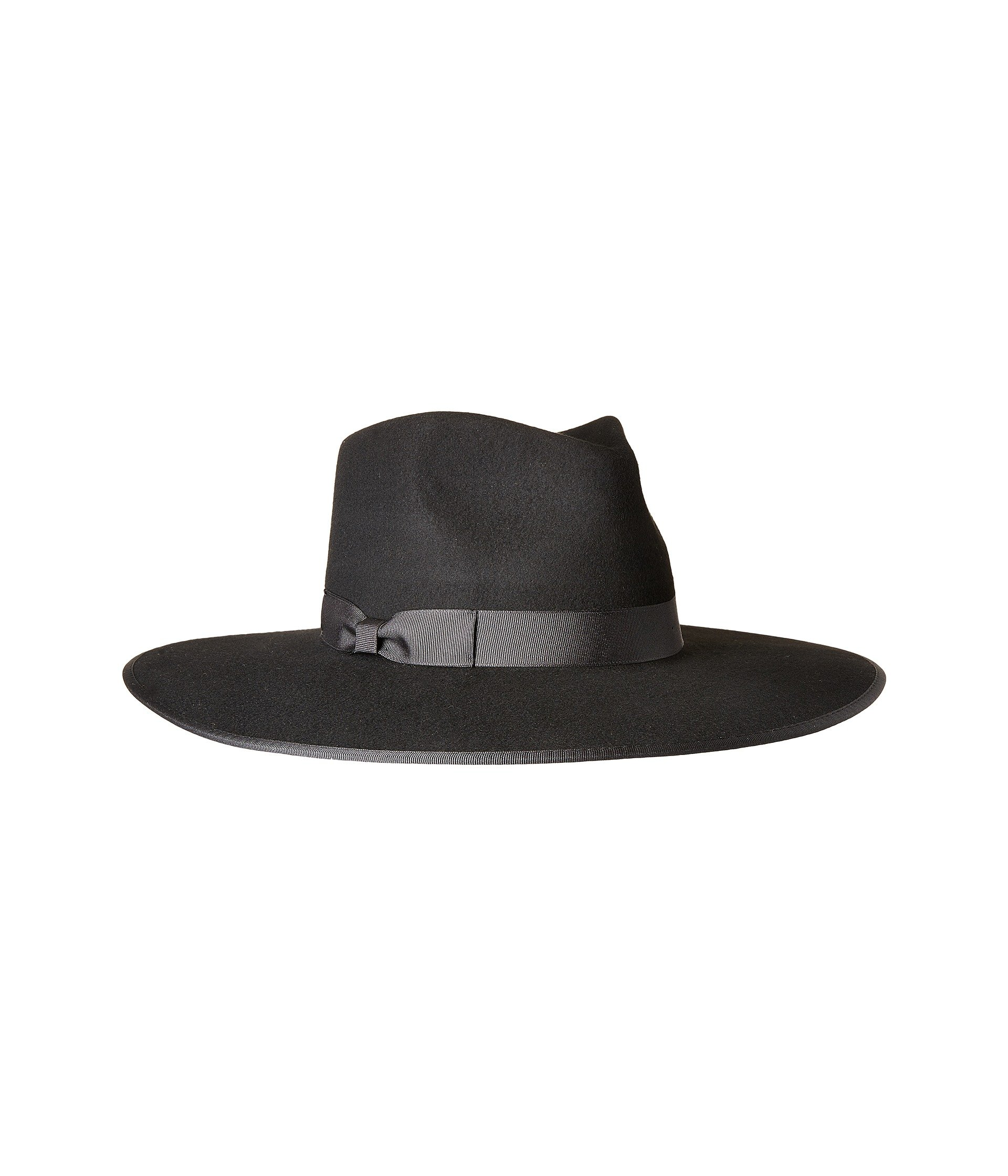 Lack of Color Women's Noir Rancher Wool Felt Fedora Black MD (57cm)