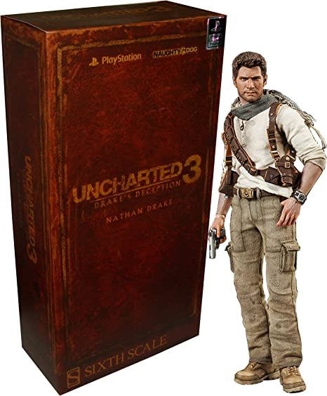 Sideshow Uncharted 3 Nathan Drake 1 6 Scale 12 Action Figure