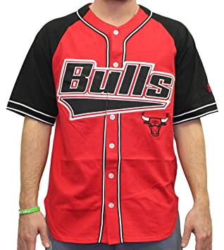 Starter Chicago Bulls NBA Men s Double Play Béisbol Jersey Camiseta, ...