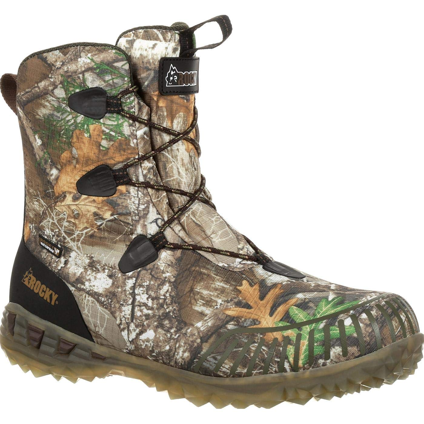 e04604ce804 Amazon.com: ROCKY Men's Broadhead Ex Waterproof Outdoor Boot Round ...