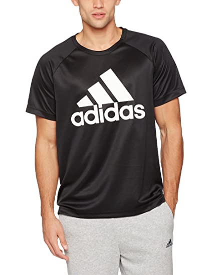 adidas D2M Tee Logo Polyester Shirt | Avantisport.nl
