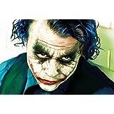 Joker The Dark Knight Batman film fumetto fotomurale decorazione da parete by Great Art 210 cm x 140 cm