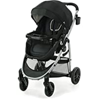 Graco Modes Pramette Stroller, Baby Stroller with True Bassinet Mode, Reversible Seat, One Hand Fold, Extra Storage…