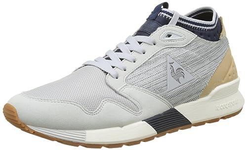 df07f093 Le Coq Sportif Omicron Craft, Entrenadores Bajos para Hombre, Gris (Galet),  45 EU: Amazon.es: Zapatos y complementos