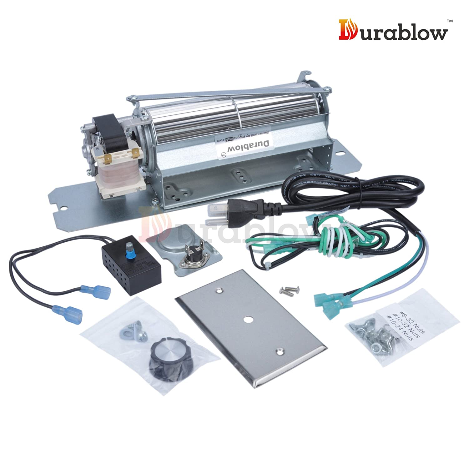 amazon com durablow mfb003 a gz550 replacement fireplace blower