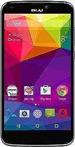 "BLU Studio G Plus S510Q 8GB Unlocked GSM 5.5"" Quad-Core Smartphone w/ 5MP Camera - Black"