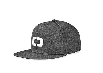 Ogio Icon Snap Back Hat Gorra de béisbol, Hombre, Gris (Gris ...