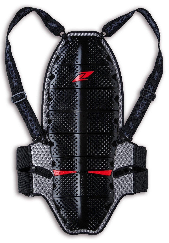 Zandonà Paraschiena Shark EVC x8, Altezza 178/187 cm (Giro Vita 94-101 cm), Nero, L Zandonà 8008BKLSL