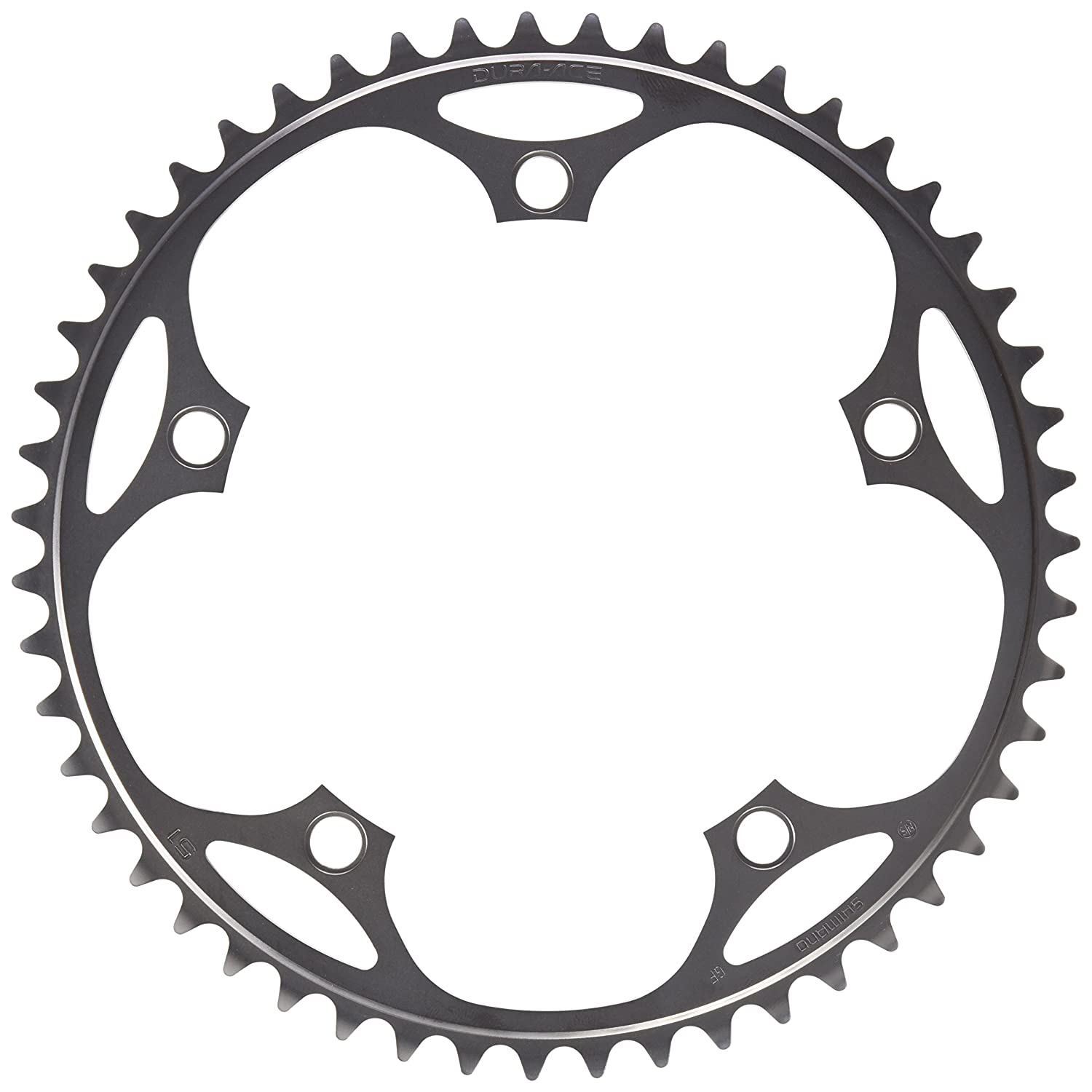 """Y16S51001 NJS Shimano DURA-ACE TRACK FC-7710 51T 1//2/"""" X 1//8/"""" Chainring"""
