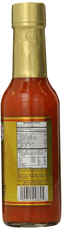Marie Sharps Pepper Sauce, Fiery Hot Habanero, 5 Ounce: Amazon.com: Grocery & Gourmet Food