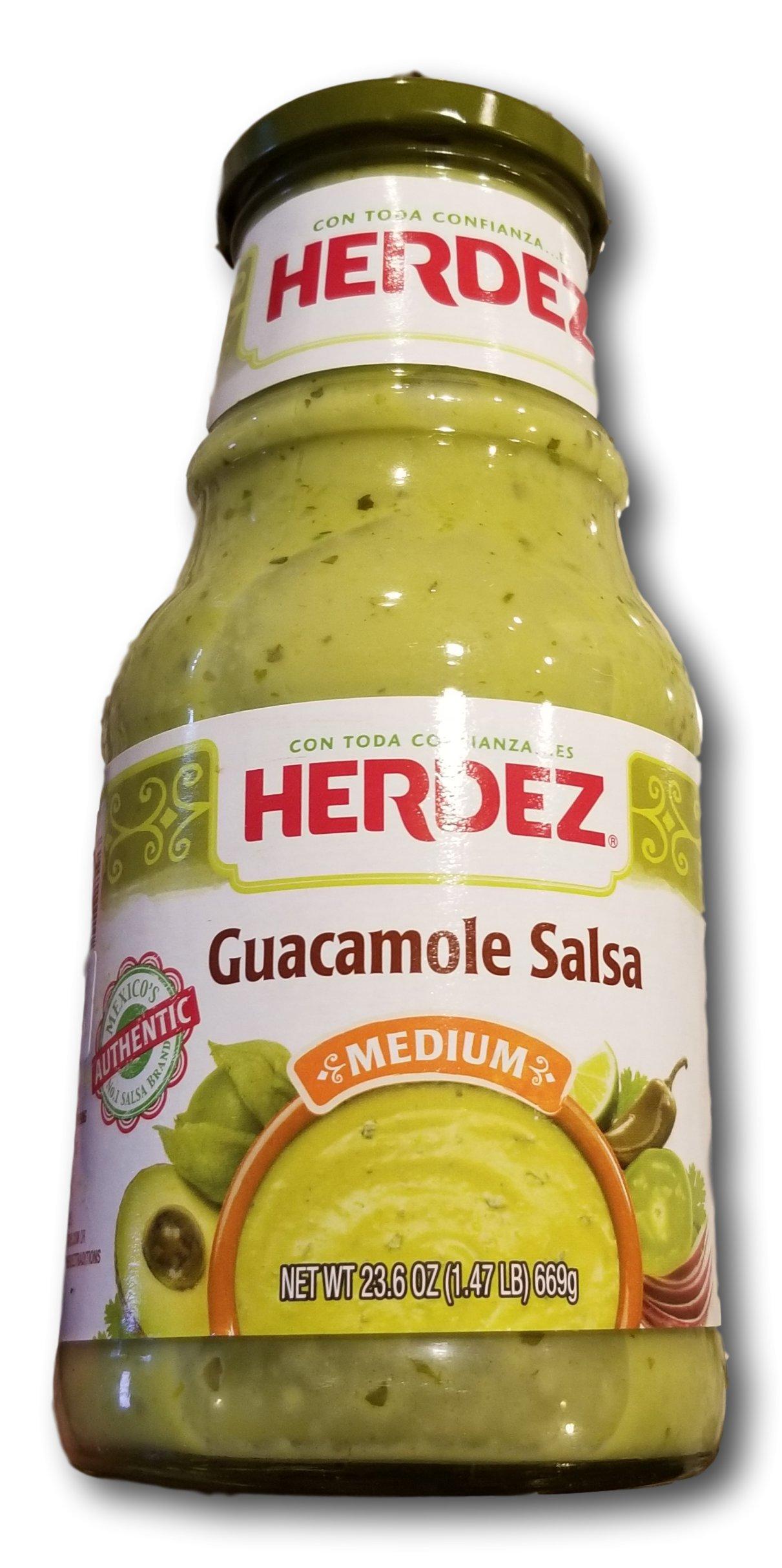 Herdez Guacamole Sales- Mild- 23.6oz by Herdez